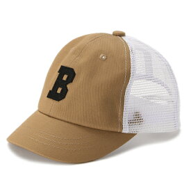 ビールーム(b-ROOM)アルファベットポイントメッシュキャップ