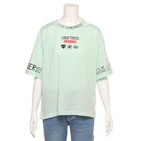 ラブトキシック(Lovetoxic)衿スリットロゴTシャツ