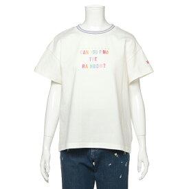 メゾピアノジュニア(mezzo piano junior)カラフルロゴTシャツ