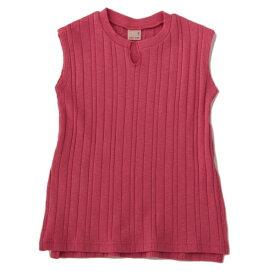 プティマイン(petit main)ワッフルロングTシャツ