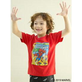 ビールーム(b-ROOM)MARVEL スパイダーマンデザインTシャツ