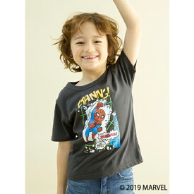 ビールーム(b-ROOM)MARVEL スパイダーマンデザイングラフィックTシャツ