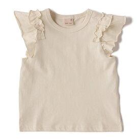 プティマイン(petit main)バリュー袖フリルTシャツ