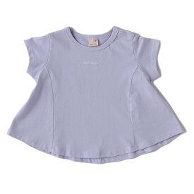 プティマイン(petit main)バリューチビロゴフレアTシャツ