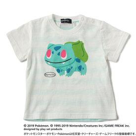 クレードスコープ(kladskap)ポケモン 旅立ちのパートナーデザイン バックボーダーTシャツ