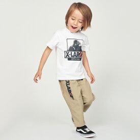 エクストララージ キッズ(XLARGE KIDS)グラミチコラボ OGゴリラTシャツ