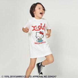 エックスガール ステージス(X-girl Stages)Hello Kitty Tシャツワンピース