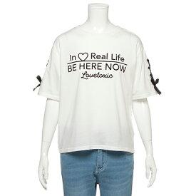 ラブトキシック(Lovetoxic)レースアップガーリーTシャツ