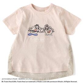 プティマイン(petit main)DISNEY/PIXAR TOY STORYデザイン 後ろ切り替えTシャツ