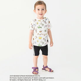 プティマイン(petit main)DISNEY/PIXAR TOY STORYデザイン 総柄Tシャツ