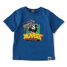 エクストララージ キッズ(XLARGE KIDS)ラジカセ&ゴリラTシャツ