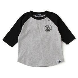 エクストララージ キッズ(XLARGE KIDS)スケータープリントラグランTシャツ