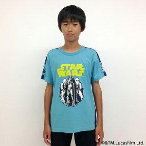 ブルークロス(BLUE CROSS)STARWARS  切替ラインTシャツ