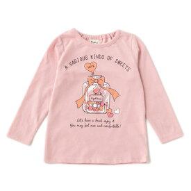 ピューピルハウス(Pupil House)お菓子瓶プリントTシャツ