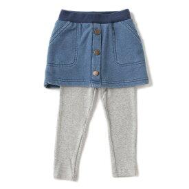 プティマイン(petit main)レギンスつき前ボタンスカート