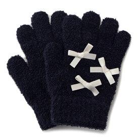 プティマイン(petit main)ミニリボンマシュマロ手袋