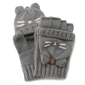 プティマイン(petit main)ねこ2WAY手袋