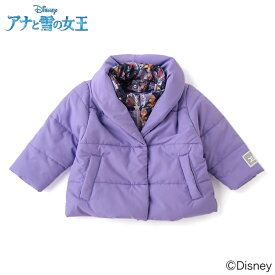 エックスガール ステージス(X-girl Stages)【DISNEY】 アナと雪の女王デザイン 中綿入りジャケット