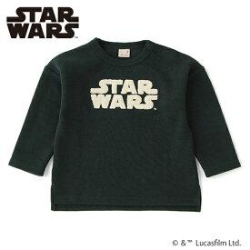 プティマイン(petit main)【STAR WARS】 裏起毛 サガラワッペンTシャツ