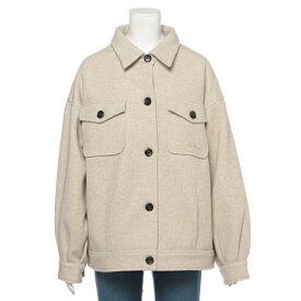 リンジィ(Lindsay)ビッグシャツ中わたジャケット