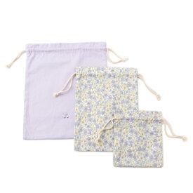 プティマイン(petit main)GIRLS巾着3点セット