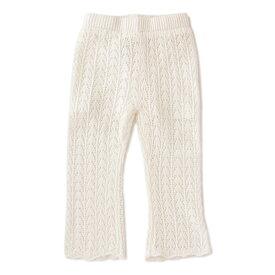 プティマイン(petit main)レース編みパンツ