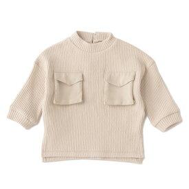 プティマイン(petit main)胸ポケットプルオーバー