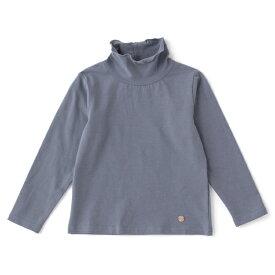 プティマイン(petit main)オーガニックコットン ハイネックTシャツ