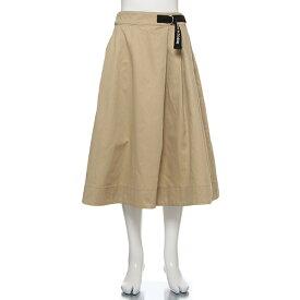 リンジィ(Lindsay)フェイクベルトつきボリュームフレアスカート