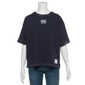 リンジィ(Lindsay)USAコットン 配色ステッチTシャツ