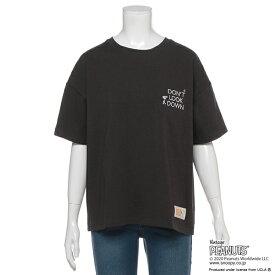 リンジィ(Lindsay)【PEANUTS×UCLAコラボ】 ロゴ刺しゅうTシャツ