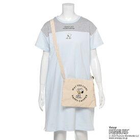 リンジィ(Lindsay)【PEANUTSコラボ】 オーガビッツ Tシャツワンピース×サコッシュセット