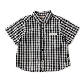 プティマイン(petit main)ボタンベーシックシャツ