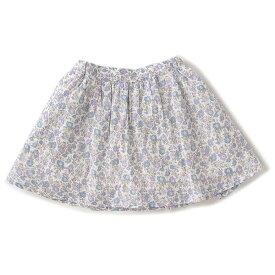プティマイン(petit main)花柄ギャザースカート
