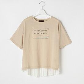 ラブトキシック(Lovetoxic)バックプリーツボックスロゴTシャツ
