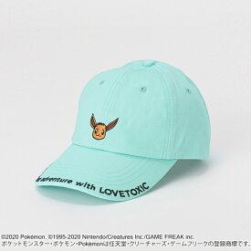 ラブトキシック(Lovetoxic)【ポケモン】 フェイスデザインロゴローキャップ