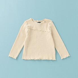プティマイン(petit main)オーガニックコットン メロウテレコTシャツ