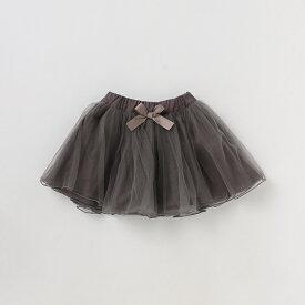 プティマイン(petit main)リボンつきチュールスカート