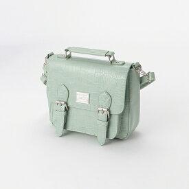 ラブトキシック(Lovetoxic)スクエアプレートフラップショルダーバッグ