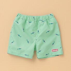 クレードスコープ(kladskap)サメ柄布帛スイムパンツ【SWIM】