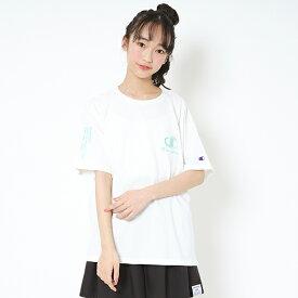 ラブトキシック(Lovetoxic)【Championコラボ】 ロゴ刺しゅうビッグシルエットTシャツ