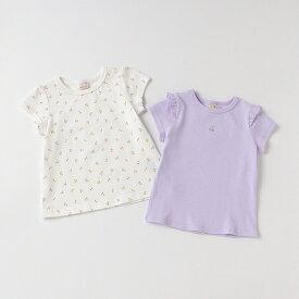 プティマイン(petit main)プティプラGIRLS Tシャツセット【PTPR】