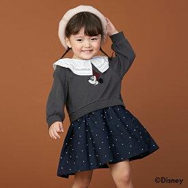 プティマイン(petit main)【Disney】ミニー/レース衿ワンピース