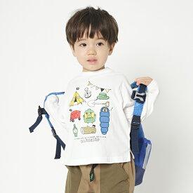 クレードスコープ(kladskap)キャンプ長袖Tシャツ