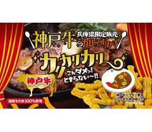 神戸牛カリカリカリー おかき 神戸牛カレー【淡路島 鳴門千鳥本舗】