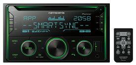 Carrozzeria カロッツェリア FH-4600 CD/Bluetooth/USB/チューナー・DSPメインユニット