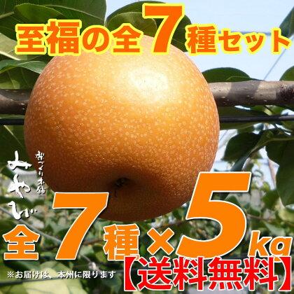 至福の和梨七種セット