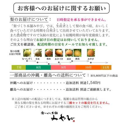 梨お届け産地直送お読みください茨城県