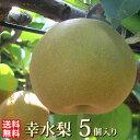 幸水 5個入り【大玉】 約2.3kg  当店一番人気 これぞ甘熟  梨の玉サイズ:4Lと5L限定【数量限定】梨 和梨 生産者直送 産地直送 …