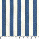 ストライプボーダー柄 1センチ 4872-77 ROYAL BLUE ロイヤルブルー stripe 縞柄 生地 布 1cm 10mm 10ミリ 綿100% 生成...